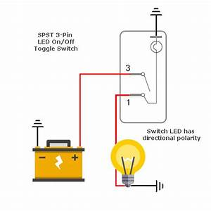 Led Wiring Diagram Mini Rocker : led toggle switch 12v green tip mgi speedware ~ A.2002-acura-tl-radio.info Haus und Dekorationen