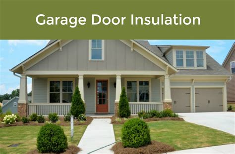 what type of insulation to use in garage 4 different types of garage door insulation garage door