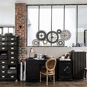 style industriel reussir son style factory marie With porte d entrée pvc avec meuble salle de bain style industriel