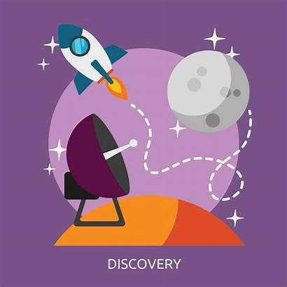 Discovery Space Illustration Vector Conceptual Discover Background