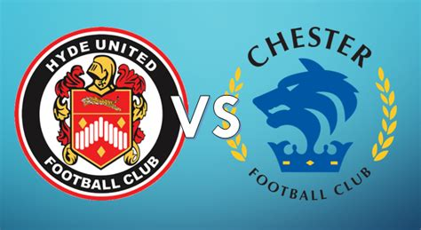 Chester Football Club – Official Website » Hyde United vs ...