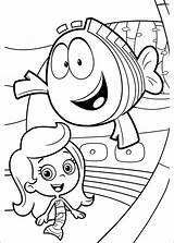Bubble Guppies Coloring Pages Dora sketch template