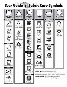 Your Guide to Fabric Care Symbols | Clean Living ...