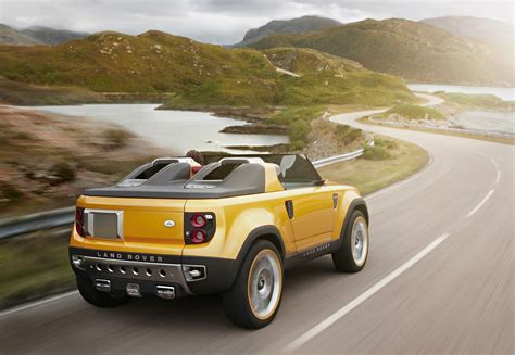 Land Rover 2019 : 2019 Land Rover Defender Pickup Redesign And Price