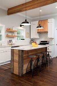 Ilot Bar Cuisine : ilot de cuisine faire soi m me 10 exemples avec pas ~ Melissatoandfro.com Idées de Décoration
