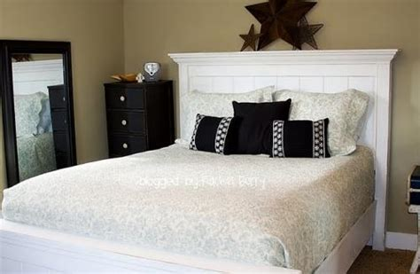 ana white full size farmhouse bed diy projects