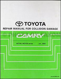 2002 Toyota Camry Wiring Diagram Manual Original