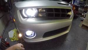 2010 Chevrolet Camaro Ss Drl Harness And Led Bulb Install