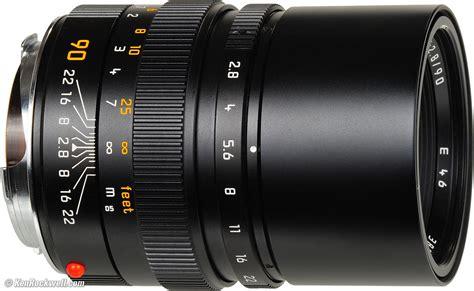 Leica 90mm F/2.8 Elmarit-m