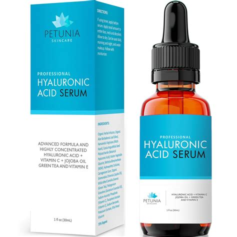 Amazon.com: Vitamin C Serum (20%) with Hyaluronic Acid and