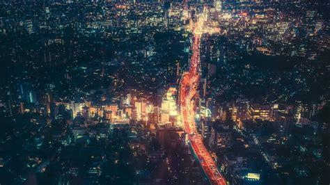 night tokyo city cityscape japan wallpaper travel