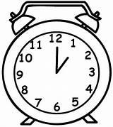 Clock Drawing Coloring Alarm Pages Grandpa Line Sheets Place Clocks Drawings Mapa Mental Right Printable Sheet Getcolorings Getdrawings Digital Utilising sketch template
