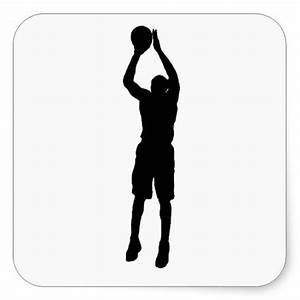 Silhouette Basketball Player Shooting - ClipArt Best