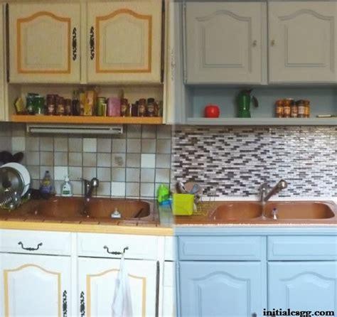 relooker credence cuisine avant après rénover sa cuisine en 2 week end