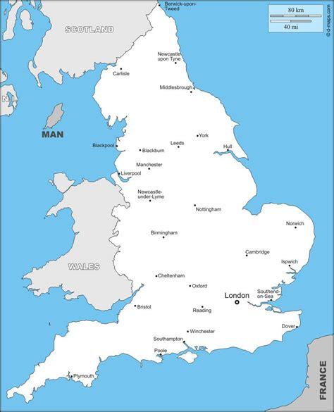 Carte Angleterre Grandes Villes carte de l angleterre plusieurs cartes du pays