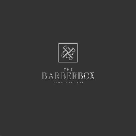 The Barber Box Logo Design Jm Graphic Design