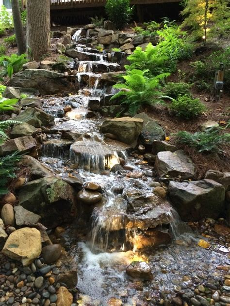 Aquascape Pondless Waterfall by Disappearing Pondless Waterfall Landscape Ideas