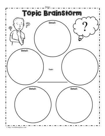 brainstorming sheets baskan idai co
