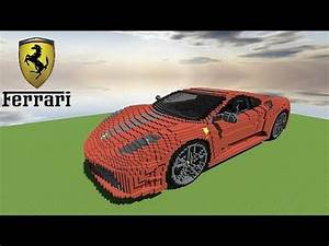 Pixel Art Voiture De Sport : minecraft ferrari f430 scuderia youtube ~ Maxctalentgroup.com Avis de Voitures
