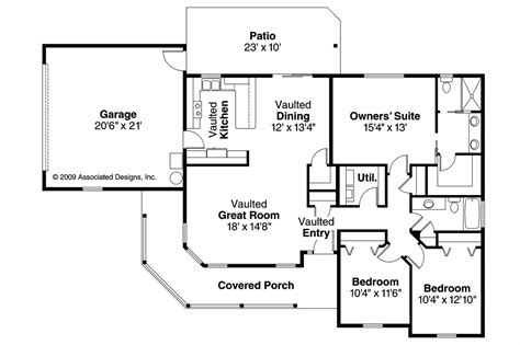 country floor plans country house plans peterson 30 625 associated designs