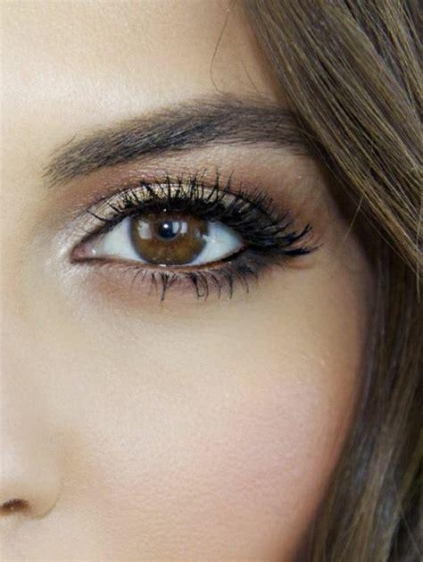 tuto maquillage yeux le maquillage pour yeux marron 51 id 233 es en photos et vid 233 os