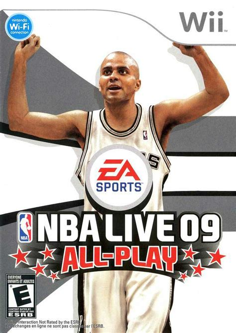 Gamis Ff09 09 nba live 09 all play nintendo wii