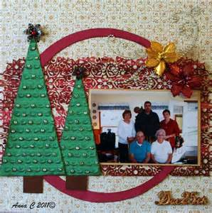 christmas scrapbook layout getting scrappy pinterest