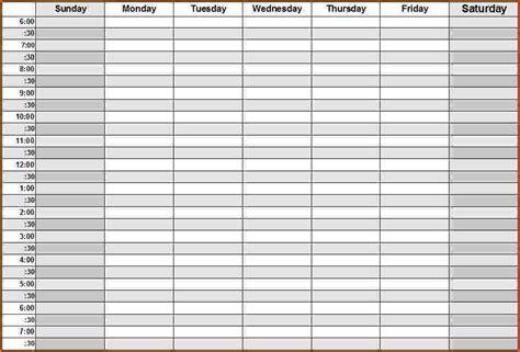 Daily Calendar Template Daily Calendar 2018 Calendar Printable