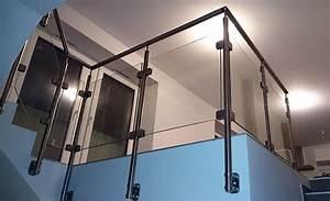 garde corps verre et poteaux inox divinox With faire plan maison 3d 13 garde corps escalier design et verriare sur mesure en