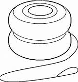 Yoyo Clipart Yo Coloring Clip Animated Cliparts Pages Ball Line Library Clipartmag Clipartbest sketch template