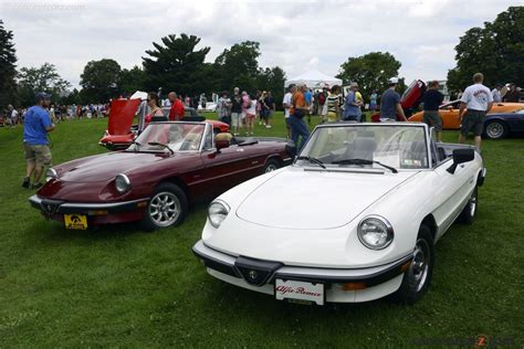 Auction Results And Sales Data For 1986 Alfa Romeo Spider