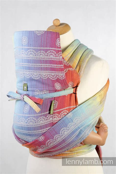 Mei Tai carrier Toddler with hood/ jacquard twill / 100% ...