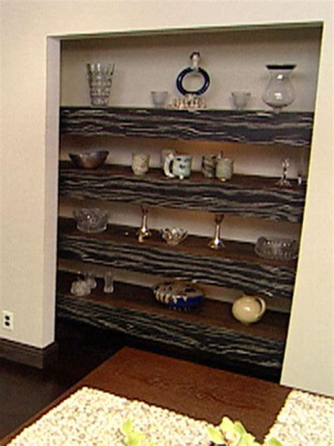 build floating shelves  accent timber hgtv