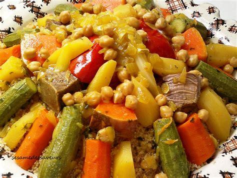 cuisine marocaine couscous couscous complet de blé dur aux légumes le sésame des