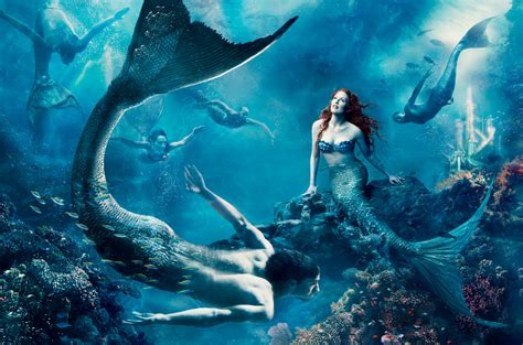 annie leibovitz images the little mermaid hd wallpaper and