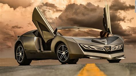 New Photos Of Qatar's First Sports Car  Elibriea  Doha Life