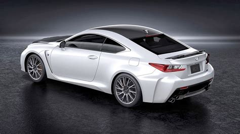 lexus coupe white lexus rc f carbon package sneak peek 95 octane