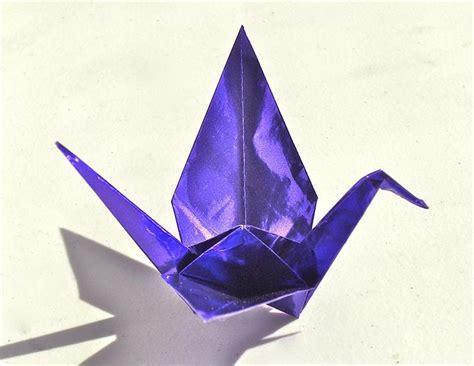 purple foil origami paper paper tree  origami store
