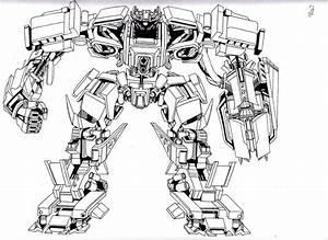 Transformers Shockwave Lineart by hybridmode on DeviantArt