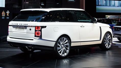 Land Rover 20192020 Land Rover Range Rover Sv Offered In