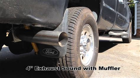 diamond eye  exhaust  muffler install
