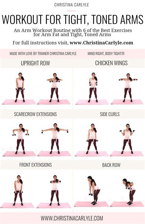 list  workouts  arms blog dandk