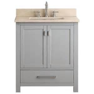buy foremost cocat3021 8w 30 inch columbia bathroom vanity combo with wheat beige granite top