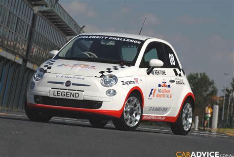 fiat     celebrity race car  caradvice