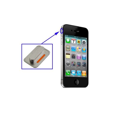 how to mute iphone mute knappen till iphone 4 optimal shop