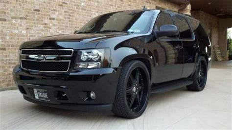 I Want To Black Out All M Chrome  Chevy Tahoe Forum Gmc