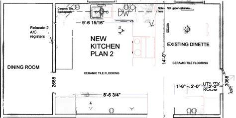 Galley Kitchen With Island Floor Plans - popular kitchen layout island cool design ideas 6669