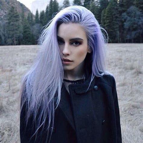 Hair Girl And Purple Hair Color Lilac Hair Lavender Hair