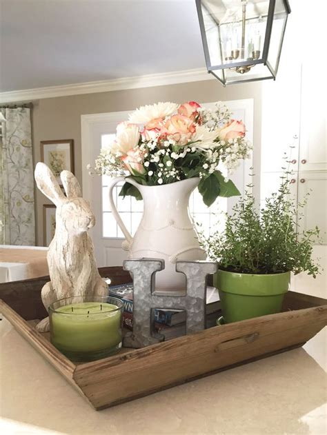 kitchen island decorative accessories decor pins from fresh flowers rabbit
