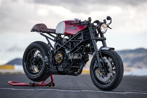 Group Thug. Mike Thalmann's Team-built Ducati Monster Cafe